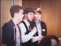 Tobias, Kevin, Sebastian