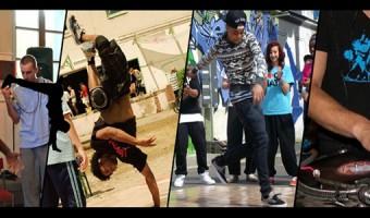 Breakdance-Battle beim BiBo-Festival